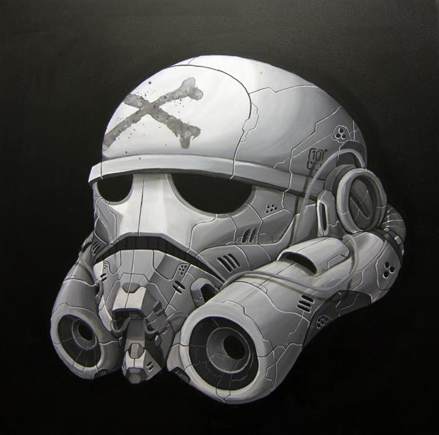 Storm Trooper - Die Jedi Scum series by Eman Raharno Jeman / Clogtwo