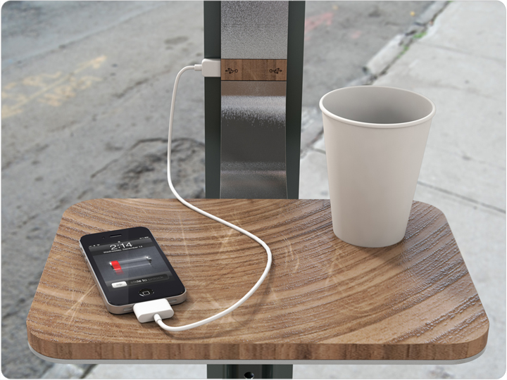 Street Charge A Solar Powered Public Charging Station By