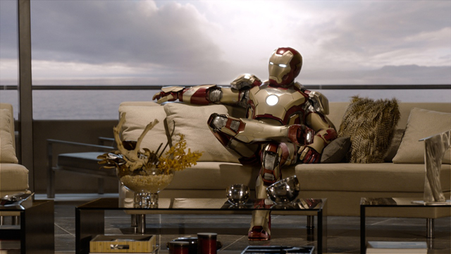 Marvel's Iron Man 3 Screen