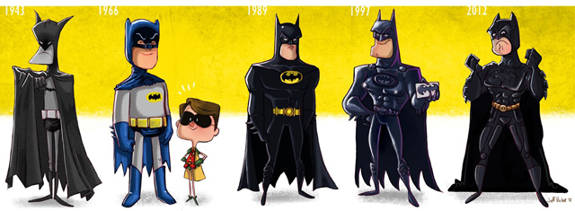 The Dark Knight Evolution