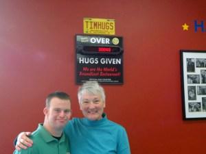Hug board