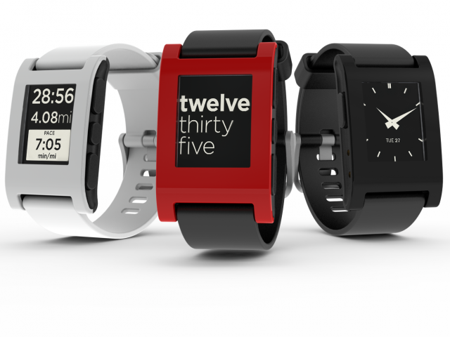 Pebble e-paper watch