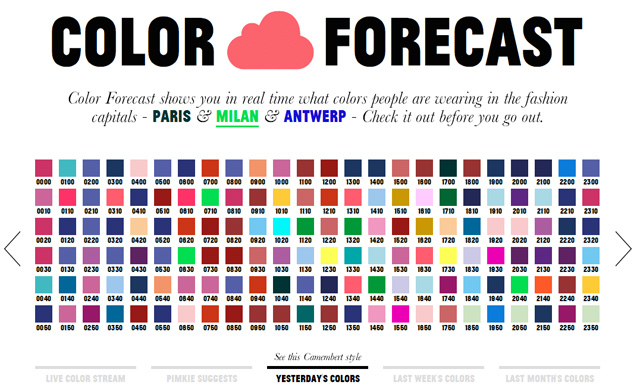 Colorful Is Trending: Color Forecast Predicts Color Trends In European Fashion