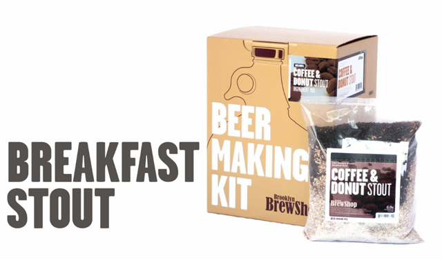 Coffee + Donut Stout Beer Making Kit