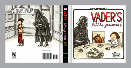 Vaders Little Princess Cover Creation