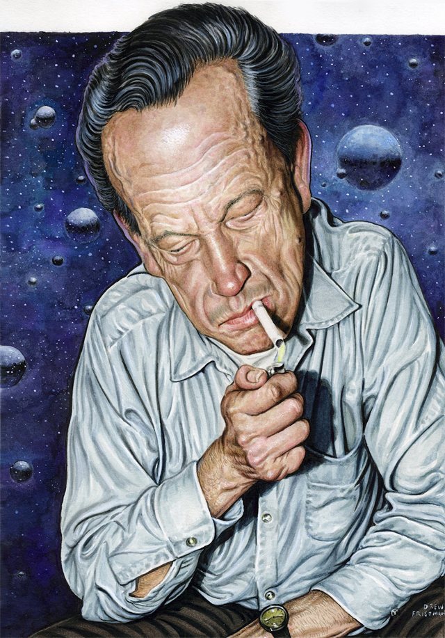 Wally Wood by Drew Friedman