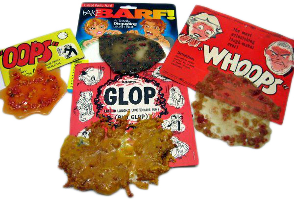 An inside look at the fake barf industry the old school pranksters delight fake vomit ccuart Image collections
