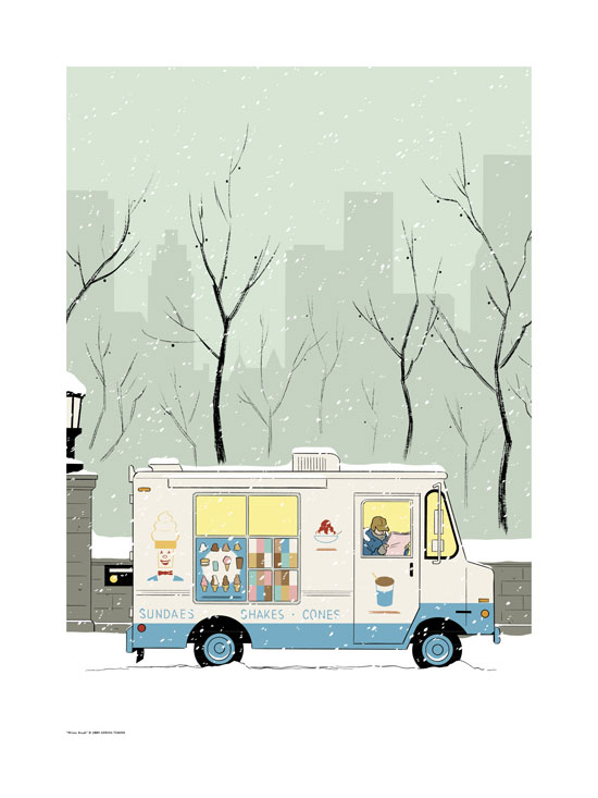 Winter Break by Adrian Tomine