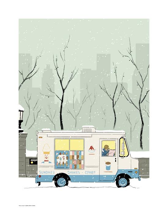 Winter Break by Adrian Tomine