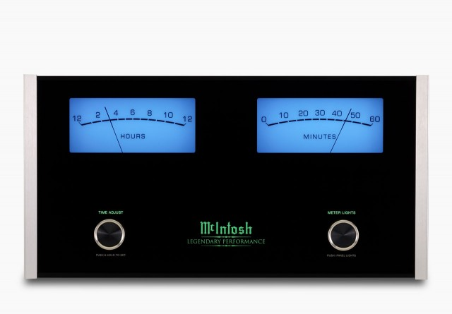 MCLK12 Hi-Fi Wall Clock by McIntosh Labs