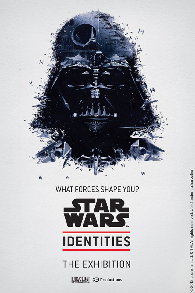 Star Wars Identities, An Interactive Character Based Exhibition