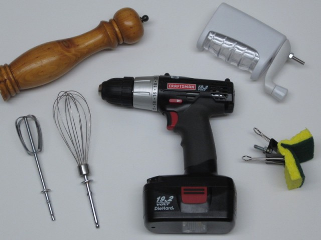 Power Tool Cooking