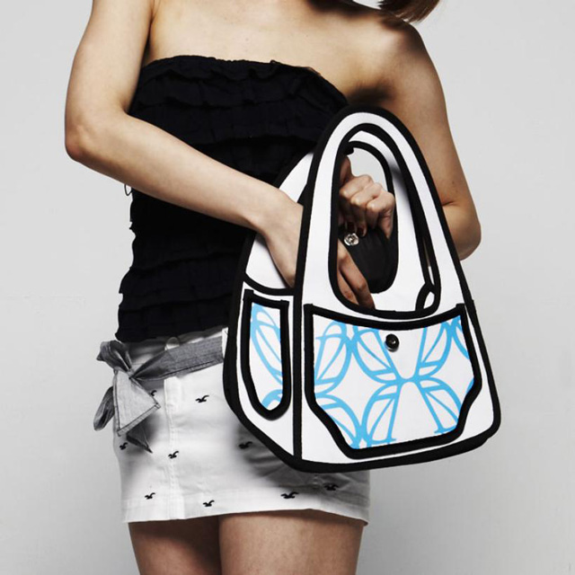 Handbags That Cleverly Look Like 2d