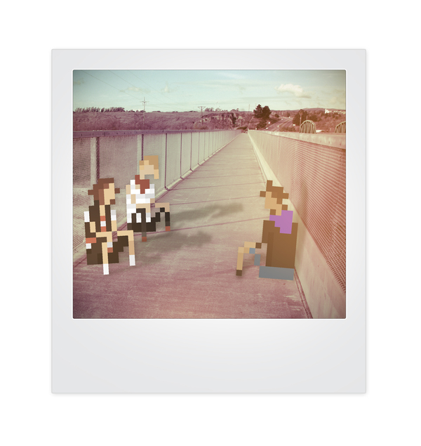 Pixels and Polaroids by Jherin Miller