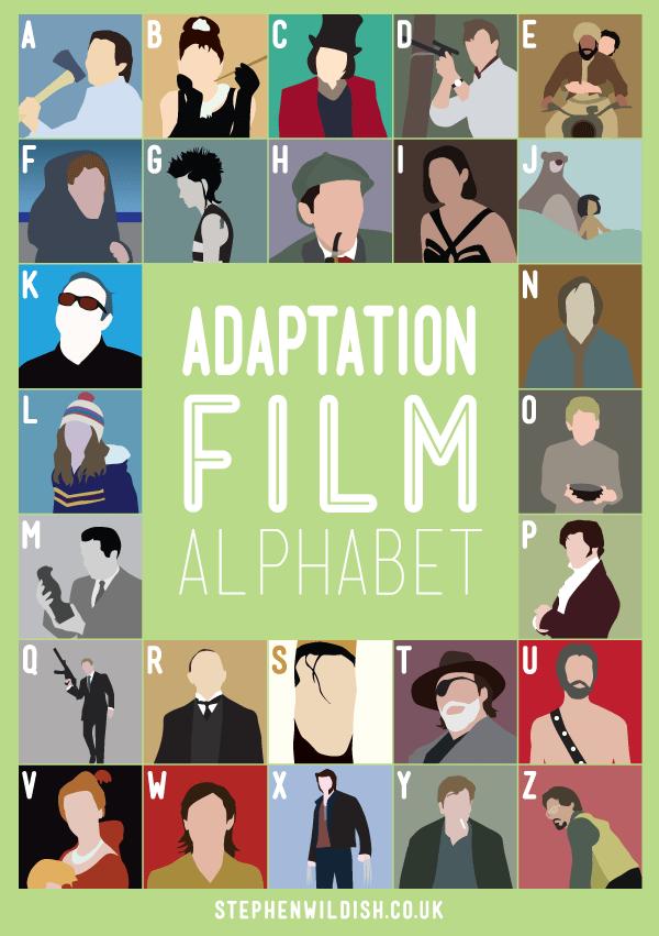 Adaptation Film Alphabet