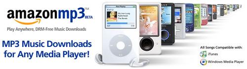Amazon Launches Massive DRM-Free MP3 Music Store