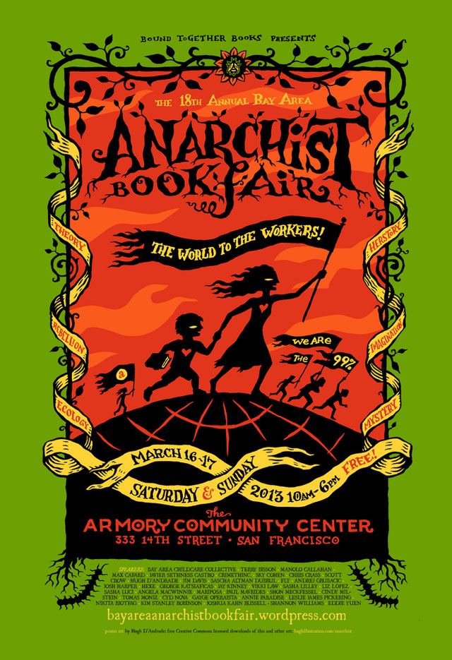 Bay Area Anarchist Book Fair 2013