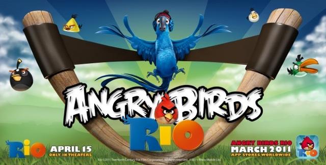 Angry Birds Rio v1.0.0 iPhone iPod Touch iPad-iOSPDA
