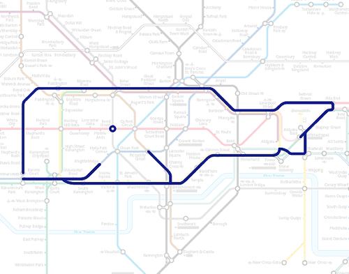 Paul Middlewick / Поль Миддлвик и его схемы лондонского метро.
