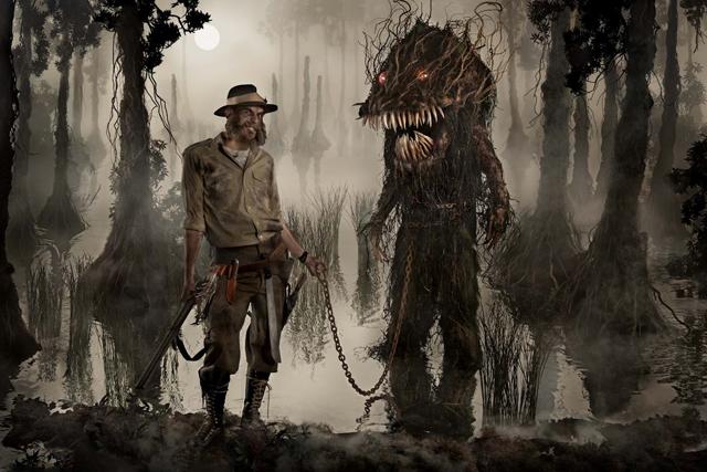 "Portrait of artist Alex Pardee, ""Monster Hunter"" / 2011 by Ransom & Mitchell"