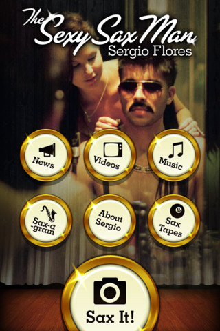 The Sexy Sax Man App