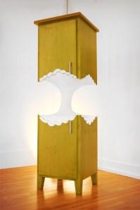 Apple Cabinet by Straightline Designs