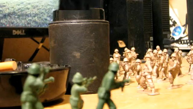 Plastic Army Men: The Battle of Little Desktop by slipshotfilms
