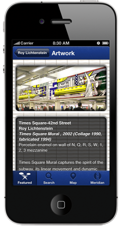 MTA Arts for Transit App