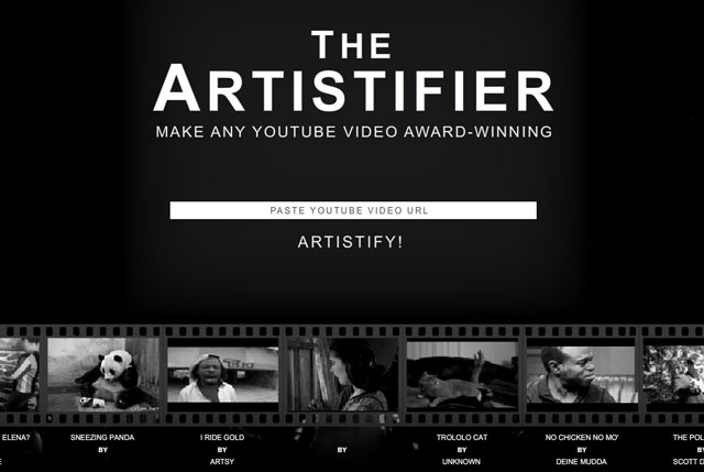 The Artistifier
