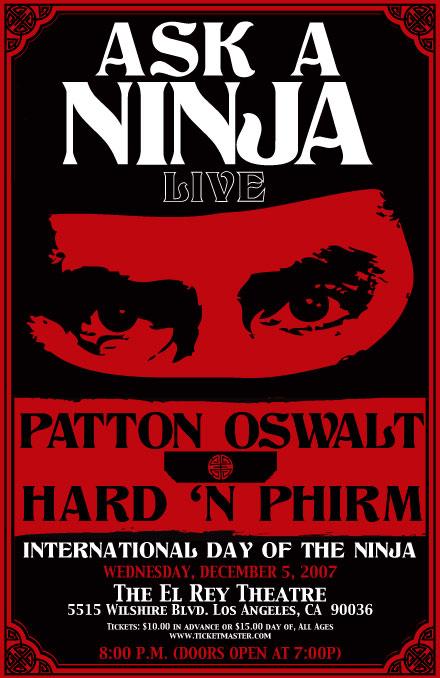 Ask A Ninja Live!