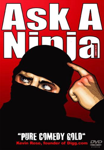 Ask A Ninja DVD