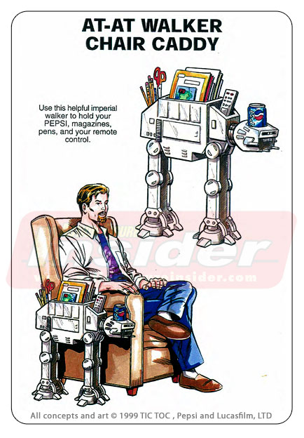 Rejected Star Wars Promotional Merchandise Concepts