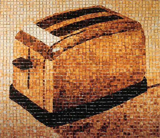The Toaster, A Crispy Bread Mosaic Made From 3,053 Pieces of Toast