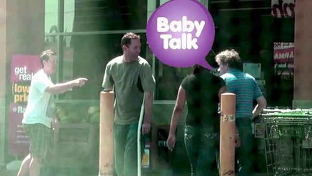 Talking Baby Talk to Adults by Mediocre Films