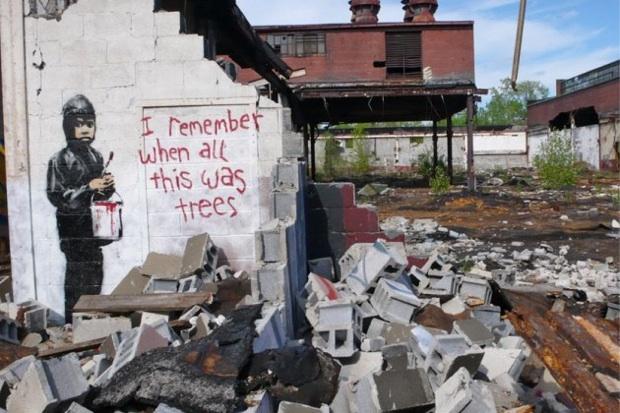 Banksy Detroit