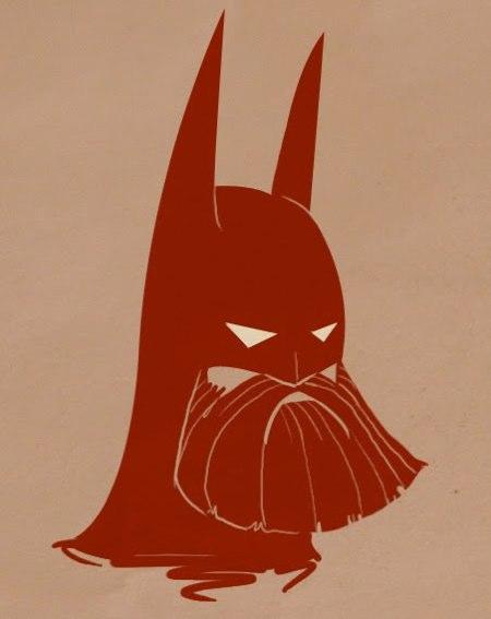 Bearded Batman