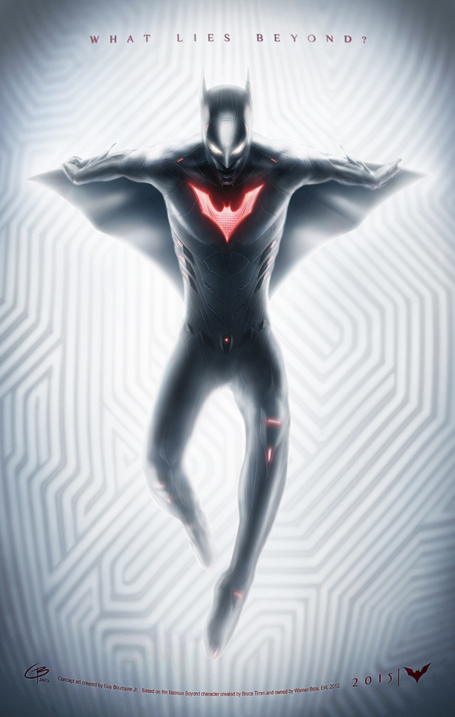 Batman Beyond by Guy Bourraine Jr