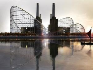 Battersea Power Station Roller Coaster