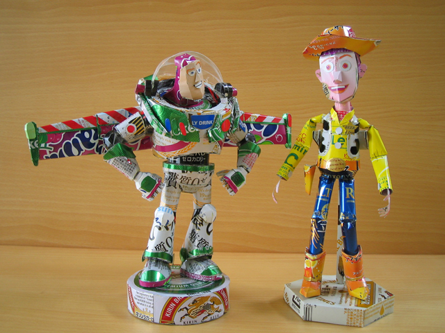 Buzz & Woody by Makaon