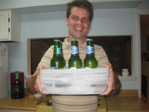 Ice Beer Holder