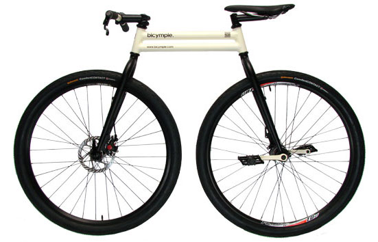 Bicymple chainless bicycle