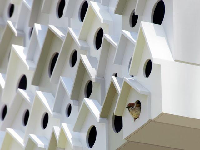 Bird Apartment by Nendo