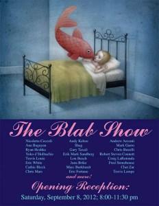 BLAB WORLD 2012 Group Art Exhibition Poster