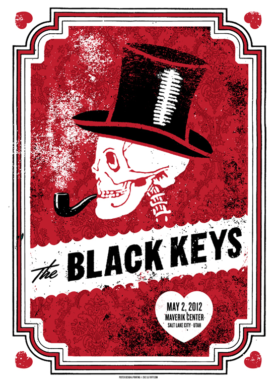 "The Black Keys by Terrance ""Lil Tuffy"" Ryan"
