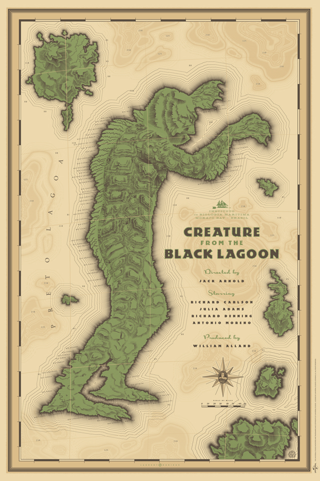 Creature from the Black Lagoon by Laurent Durieux