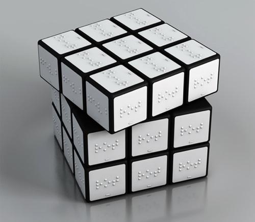 Blind Rubik's Cube