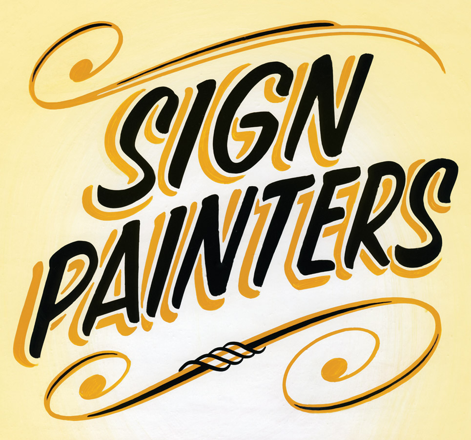 sign painters documentary book about sign painting in