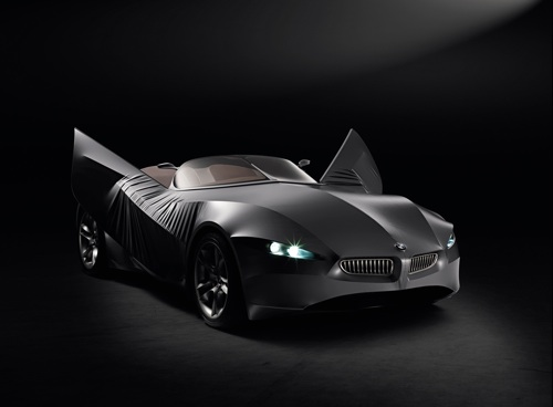 BMW GINA Light Visionary Model, Featuring a Flexible Exterior