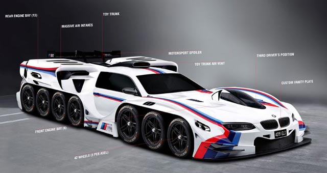 BMW designs dream car for 4 year old boy