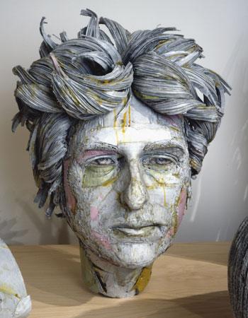 Cardboard Busts by Scott Fife